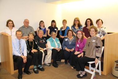 AJLSC DC Event honoring Jacqueline Ben-Efraim with Library staff, 2017