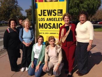 AJLSC Members at the Jews in LA exhibit, Autry Museum, Nov. 2013
