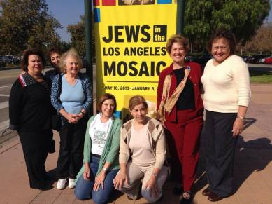 AJLSC Members at the Jews in LA exhibit, Autry Museum, Nov. 2013